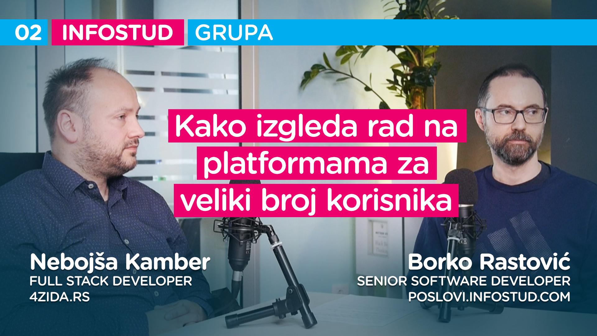 Infostud grupa specijal EP002: Borko Rastović i Nebojša Kamber