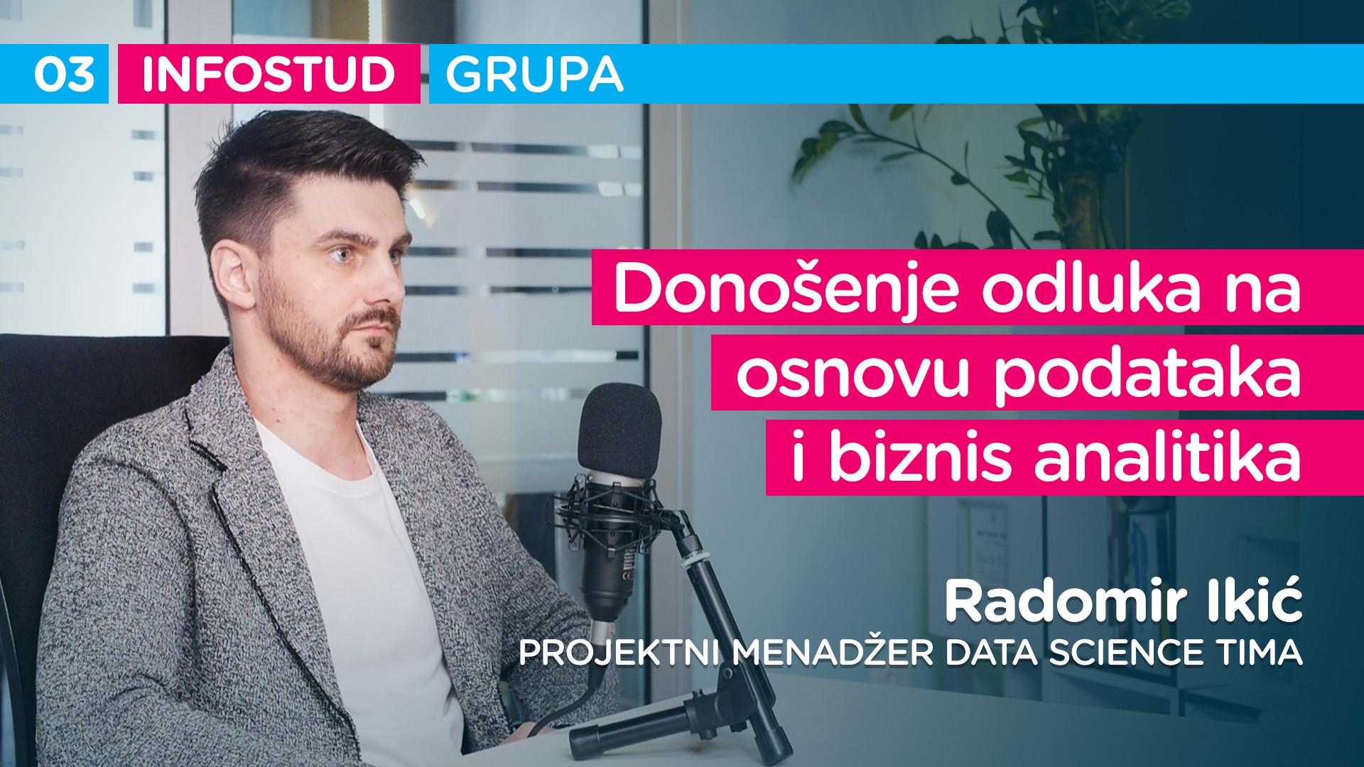 Infostud grupa specijal EP003: Radomir Ikić