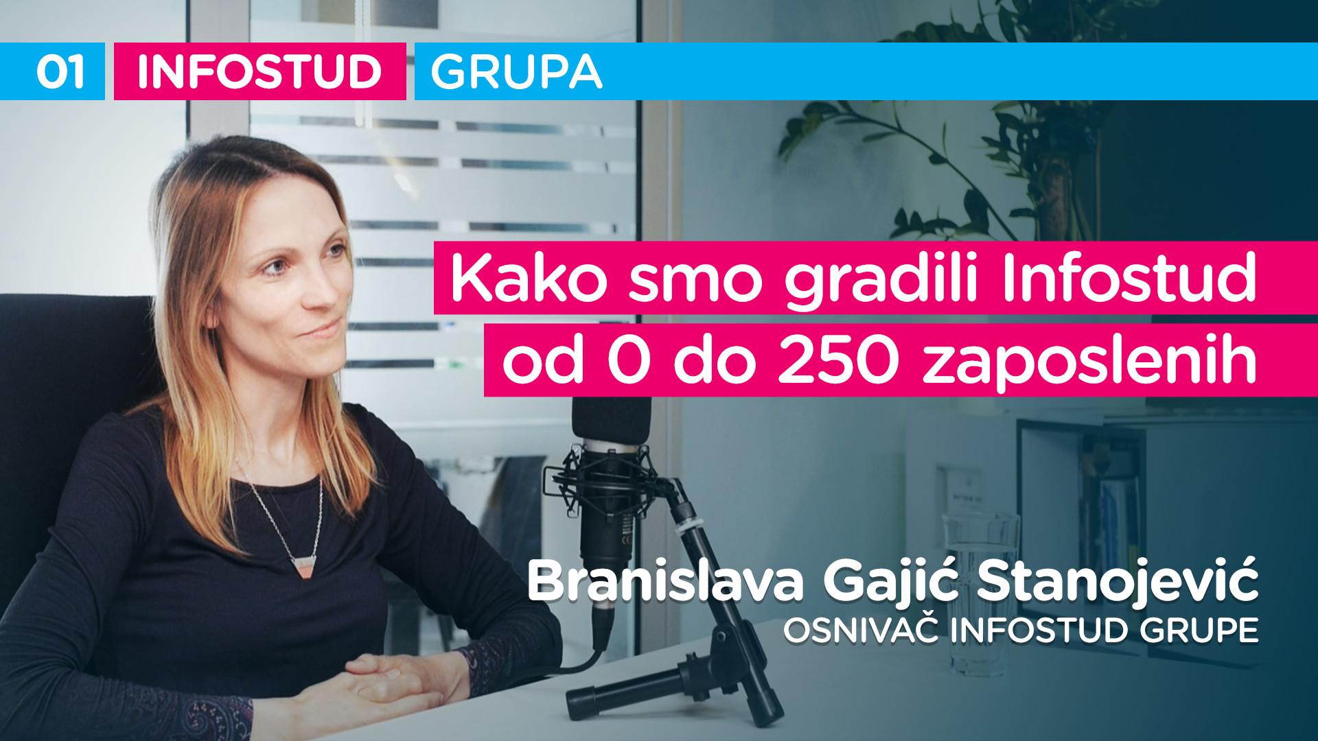 Infostud grupa specijal EP001: Branislava Gajić Stanojević