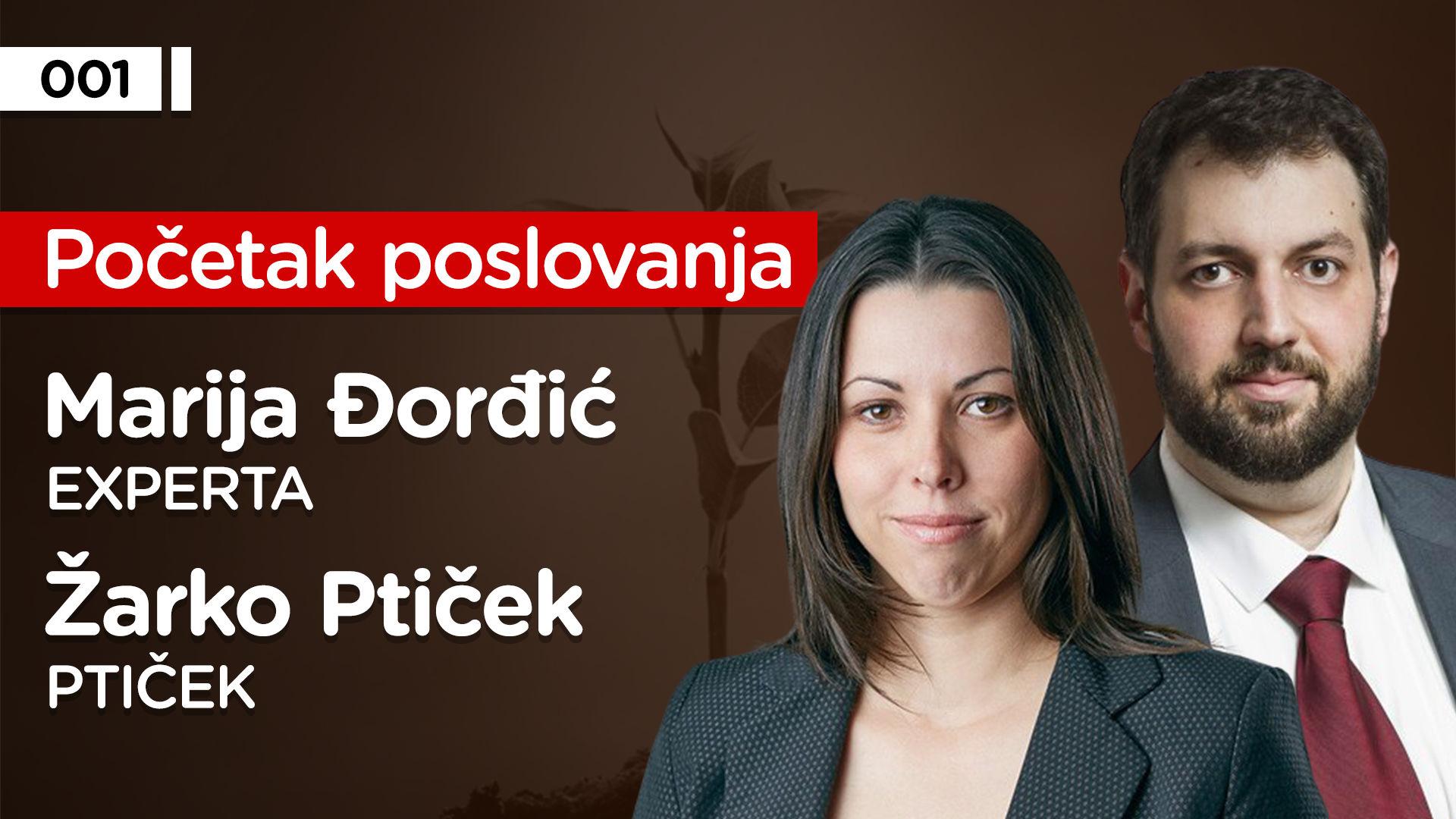 EP001: Žarko Ptiček i Marija Đorđić