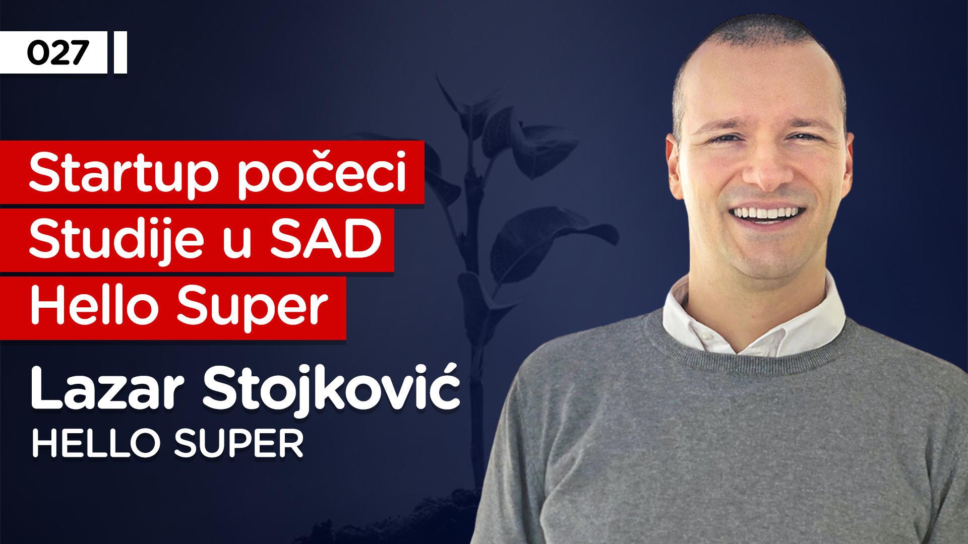 EP027: Lazar Stojković