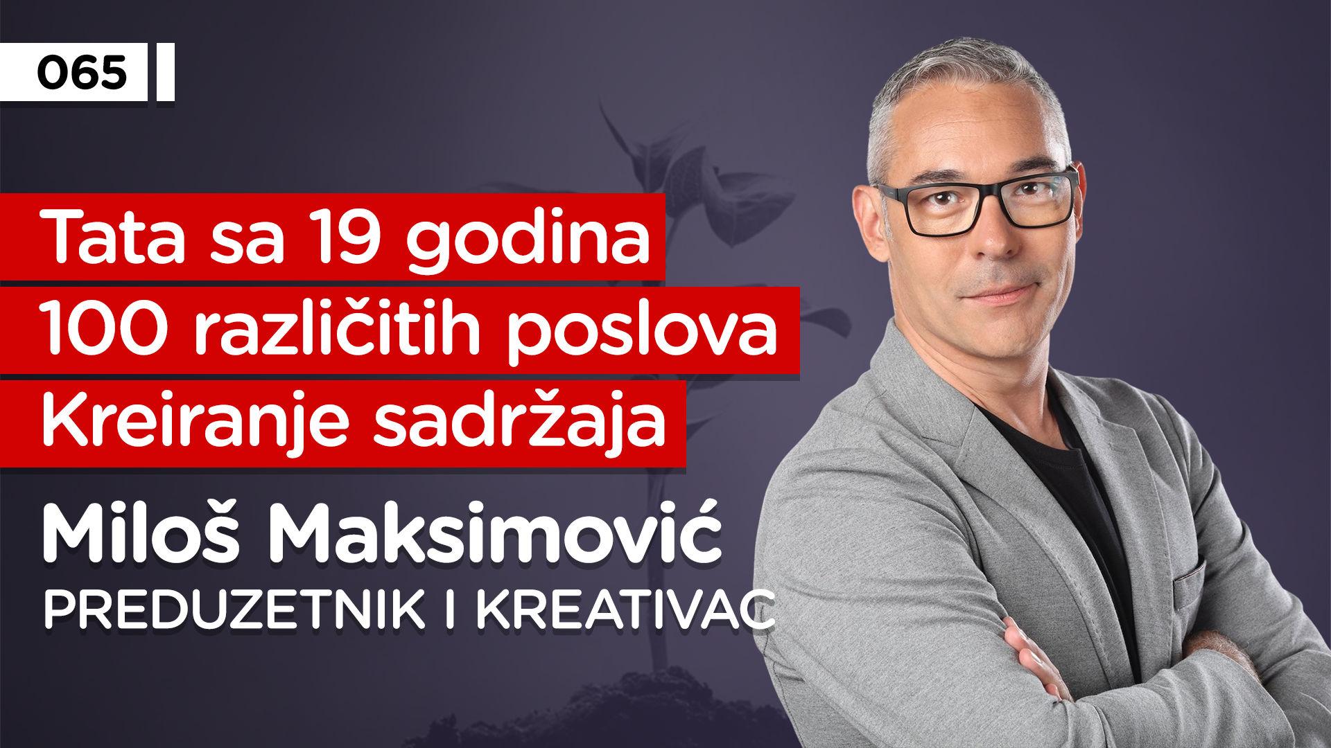 EP065: Miloš Maksimović