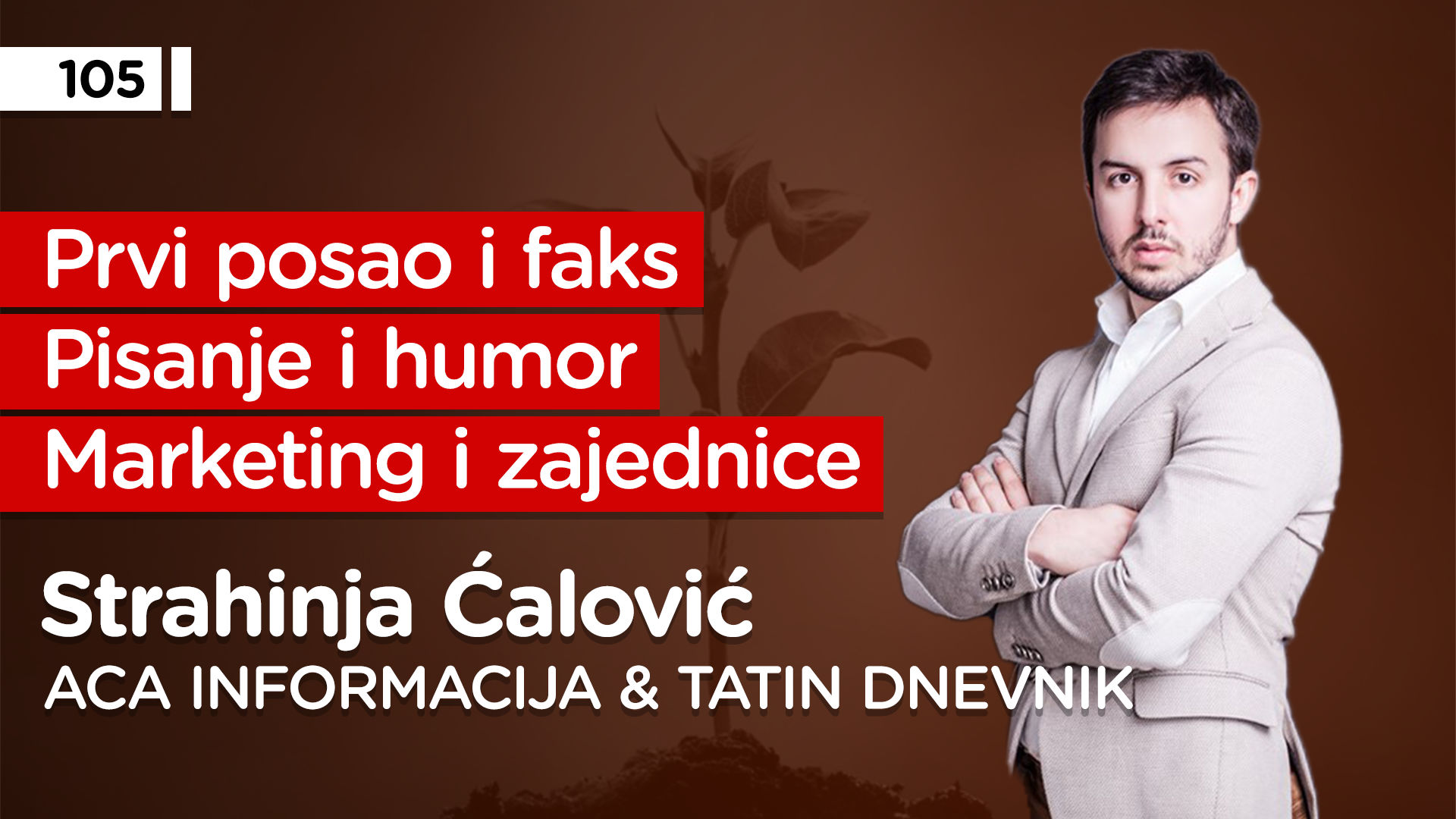 EP105: Strahinja Ćalović
