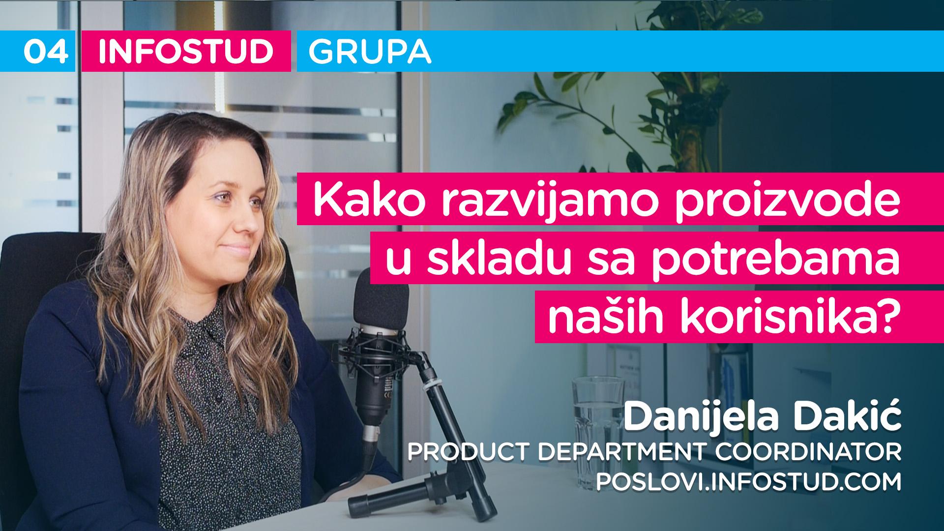 Infostud grupa specijal EP004: Danijela Dakić