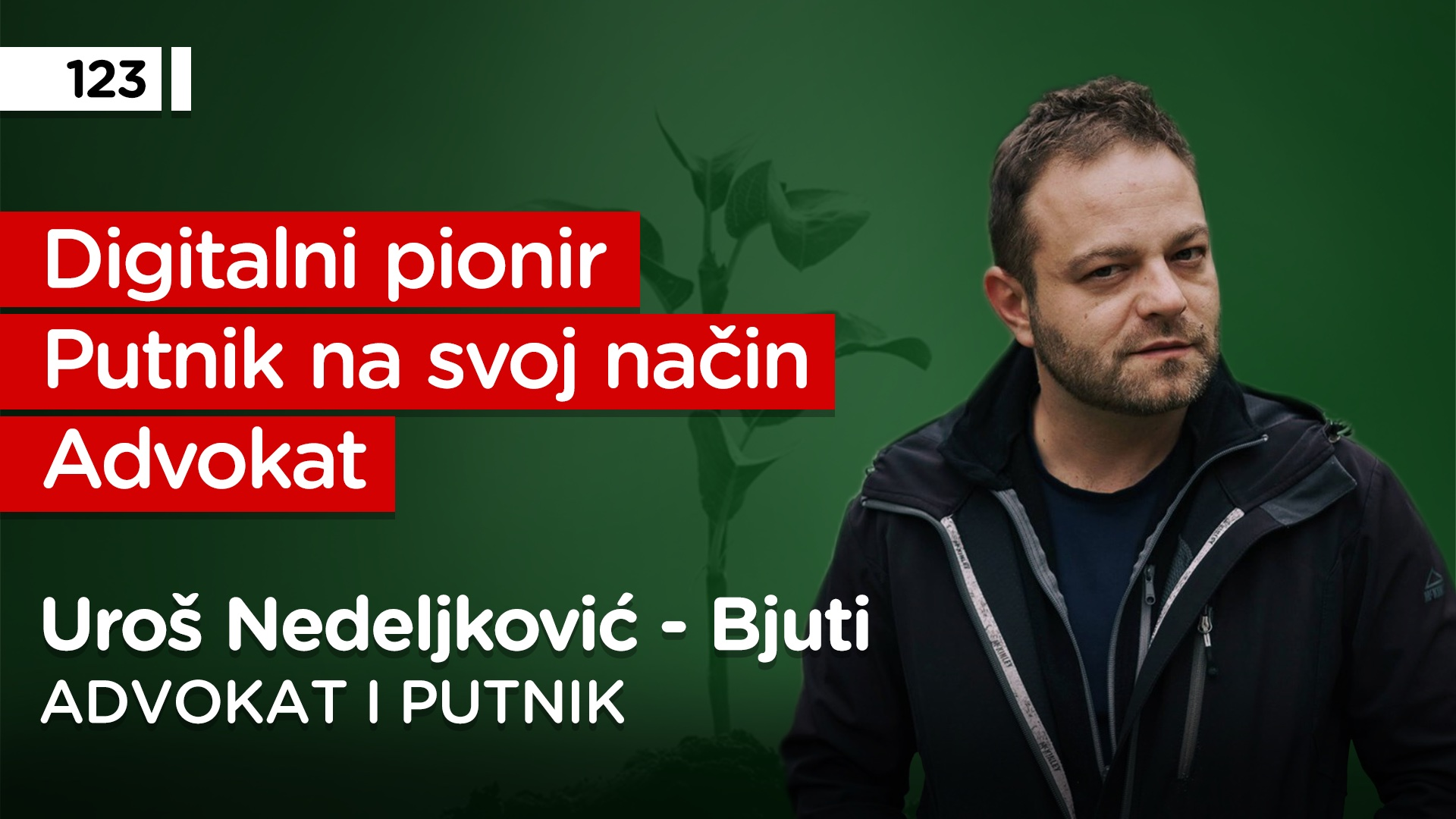 EP123: Uroš Nedeljković