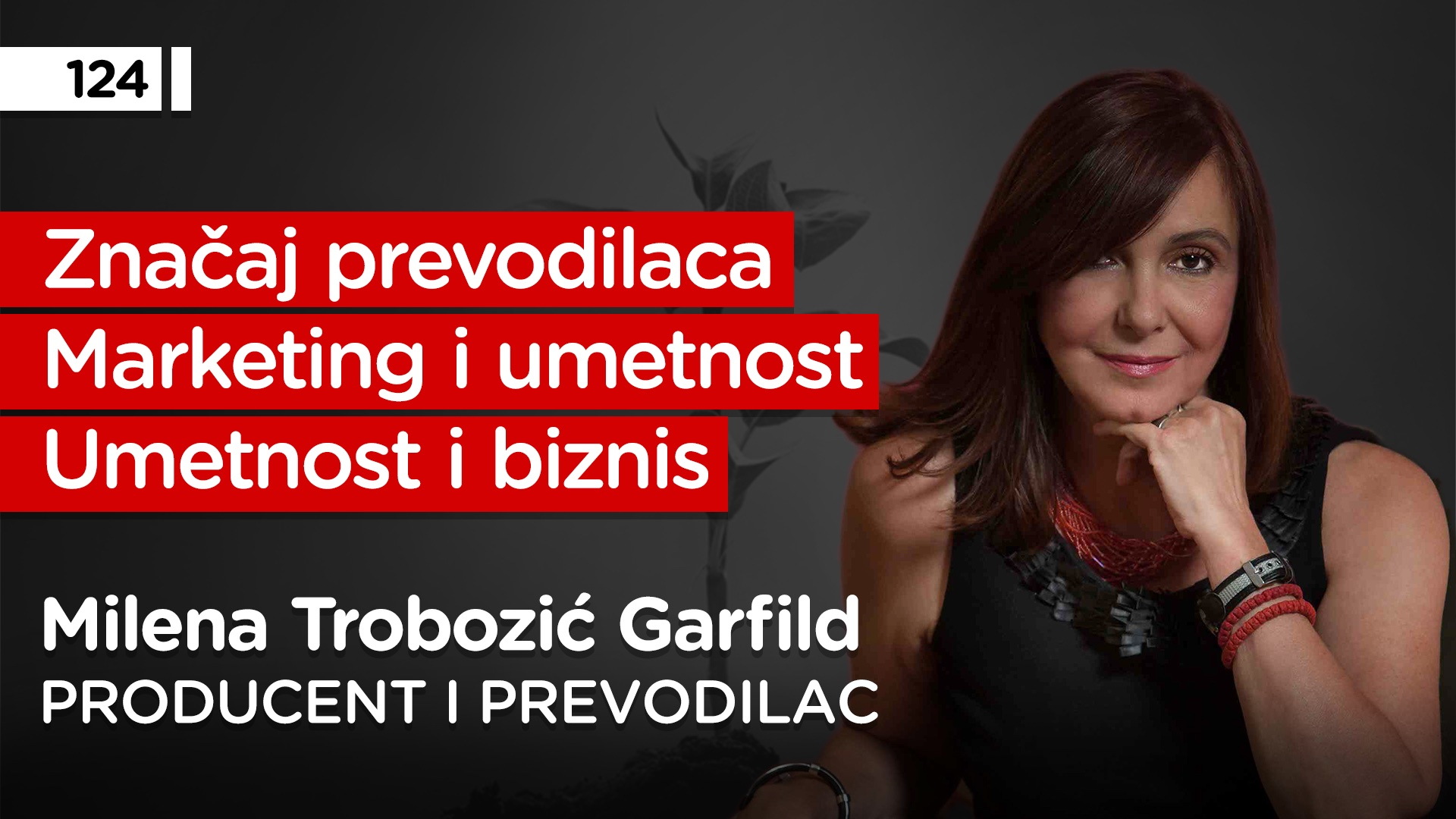 EP124: Milena Trobozić Garfild