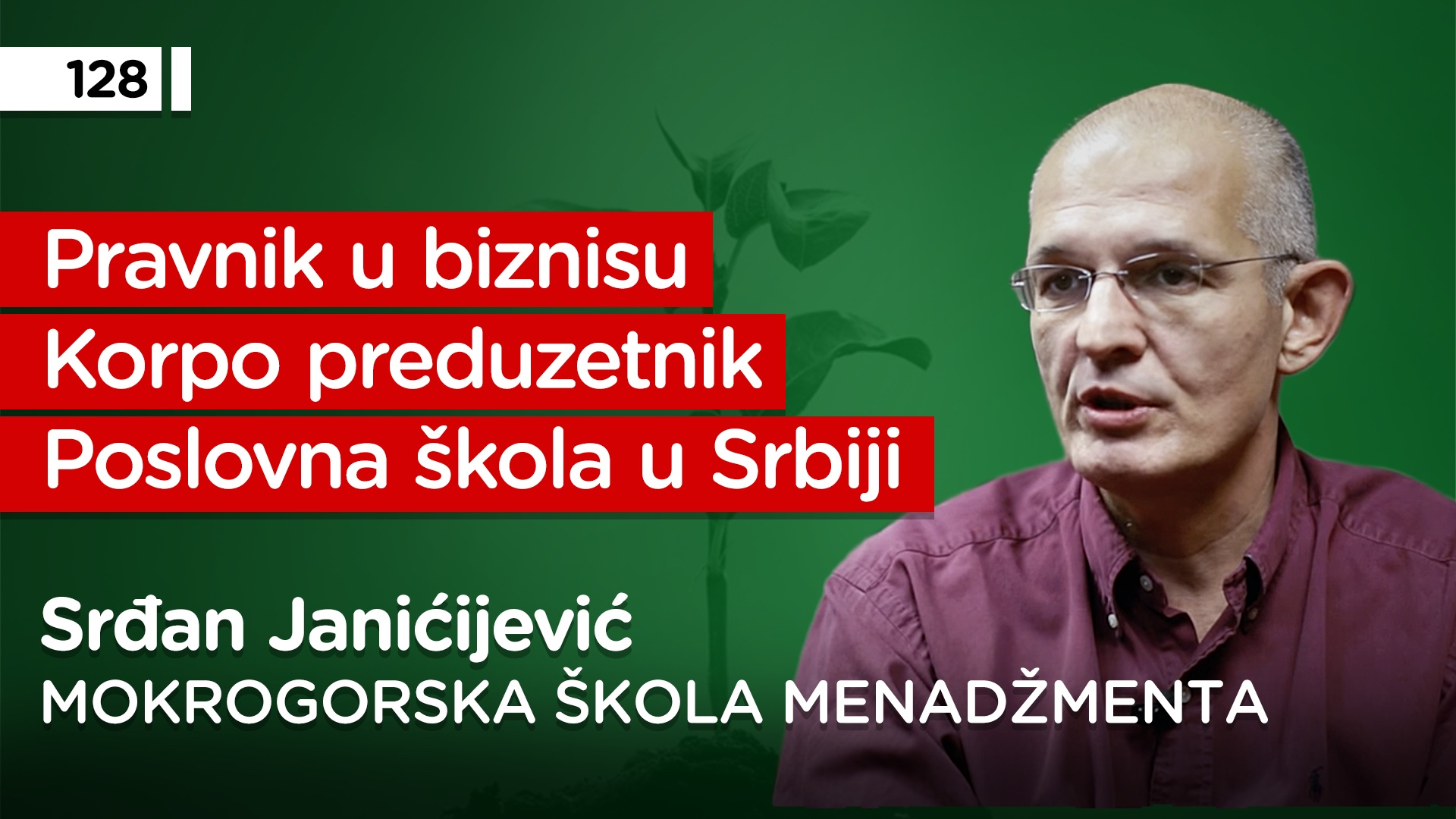 EP128: Srđan Janićijević